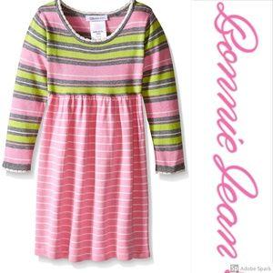 Bonnie Jean Sweater Dress Girl Long Sleeve Knit 2T